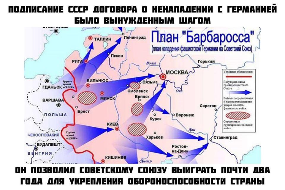 СССР никогда не был союзником гитлеровской Германии.