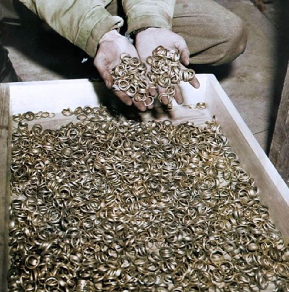 Обручальные кольца узников Бухенвальда