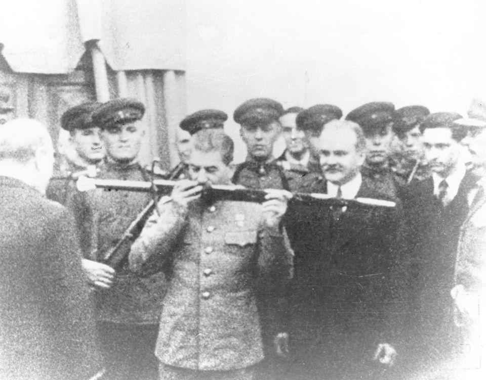 Дар Сталину от британского народа в знак признания мужества защитников Сталинграда
